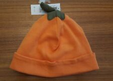 Old Navy Infant Baby 0-6 6-12 12-24 Pumpkin Cap HALLOWEEN Hat Boy Girl #45118