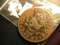 1852 Bank Of Upper Canada One Penny Token  IDJ327.