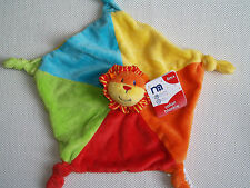 MOTHERCARE SAFARI LION BLANKIE COMFORTER BABY SOFT TOY NEW WITH TAGS NEXT D P