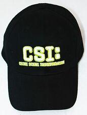 CSI Crime Scene TV Baseball Cap Sports Hat Women Men One Size Adjusts