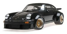 1976 PORSCHE 934 BLACK 1/12 DIECAST MODEL CAR BY MINICHAMPS 125766402