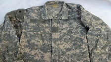 Army Combat Uniform Shirt Coat Jacket Digital Camouflage Sz Medium Reg. Pockets