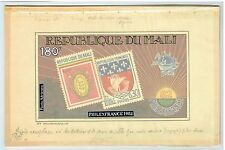 MALI 1982 UPU SHIPS CROCODILE ORIGINAL ARTWORK ESSAY ADOPTED DESIGN #449 UNIQUE