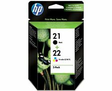 Genuine HP 21-22 Colour Black Combo Pack for Deskjet F2100 F2200 F2280 F2180 Box