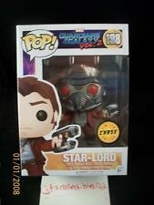 Funko POP Marvel Guardians Galaxy #198 STAR-LORD Chase Exlcusive SSP SP