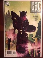 Catwoman issue #63 NM 1st Print DC Adam Hughes Cover