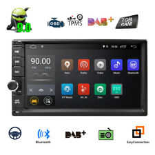 "7""HD 2Din Android 9.0 Car Stereo Radio GPS SAT NAV WiFi 3G DVR OBD MLK BT DAB+"