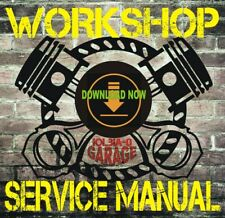 Harley Davidson Softail Models All Years Service & Electrical Diagnostic Manual