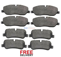 FOR LAND ROVER DISCOVERY 3 2.7 (2004-2009) FRONT & REAR BRAKE DISC PADS SET NEW