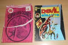 ED.CORNO SERIE DEVIL GIGANTE  N° 27 1977 CON BUSTA ORIGINALE APERTA  N° 8 !!!!!
