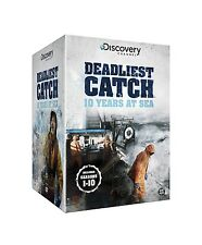 DEADLIEST CATCH COMPLETE SEASONS 1 2 3 4 5 6 7 8 9 10 46 DISC SET NEW  EXPRESS