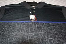Grand Slam SS Golf Mens Polo Shirt NWT XL, Motion, Sun and Air Flow, Caviar