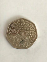 Rare Circulated 50 Pence Coins - Great British Coin Hunt