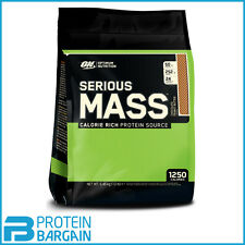 Optimum Nutrition Serious Mass Flavour Cookies and Cream Format 2730 G.