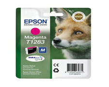 Epson SX130 SX435W SX440W SX445W Stylus Genuine Magenta Ink cartridge T1283