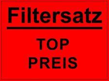 RENAULT KANGOO II LUFT  ÖL  INNENRAUMFILTER + KRAFTSTOFFILTER + KERZEN 1.6 16V