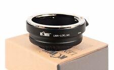 Adaptador objetivamente adaptador compatible con Leica R an Samsung NX