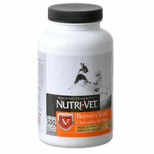 LM Nutri-Vet Brewers Yeast Flavored with Garlic 500 Count