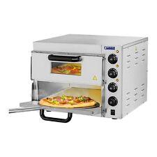 Gastro Pizzaofen Royal Catering Pizzaofen - 2 Kammern - Schamotteboden Pizza NEU