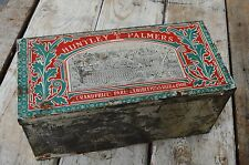 Vintage Huntley & Palmers Reading Biscuits Tin Grand Paris Exhibition 1878-1900