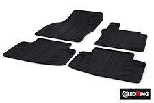High Quality Black Rubber Tailored Car Mats - VW Golf Sportsvan / SV (14 on)