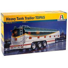 Italeri Pesado Tanque Remolque Topas 3731 1:24 camiones modelo kit