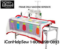 Grace Q-Zone Hoop-Frame For Long Arm 15r / DQ15 or Other Quilting Machines