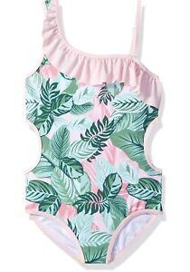 3T Jantzen Little Girls 1 Piece Retro Ocean Treasures Swimsuit Pink
