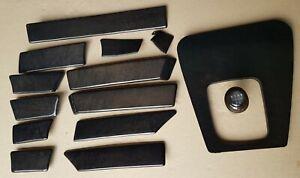 BMW E34 ///M5 OEM Manual Black Wood Trim Dark Interior FULL KIT/ Retrofit/ RARE