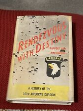 More details for rendezvous with destiny - band of brothers easy company 101st signed book - rare