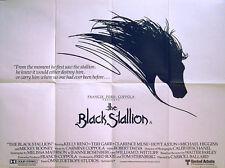 BLACK STALLION 1979 Kelly Reno, Mickey Rooney, Teri Garr UK QUAD POSTER