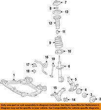 TOYOTA OEM Front Suspension-Strut Mount 4860906270