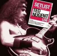 TED NUGENT - SETLIST-THE VERY BEST OF TED NUGENT LIVE CD CLASSIC ROCK & POP NEU