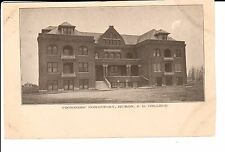 Early 1900's Voorhees' Dormitory, South Dakota College in Huron, SD PC