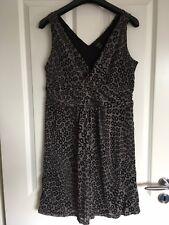 Esprit Gr. XL 42 sexy Kleid Kofferkleid Freizeitkleid Animal Strandkleid Empire