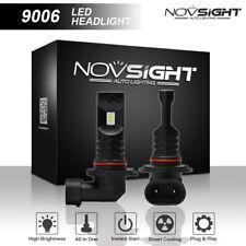 NIGHTEYE & NOVSIGHT 80W 9006 HB4 LED Fog Light Bulbs Kit Driving Lamps 6500K UK