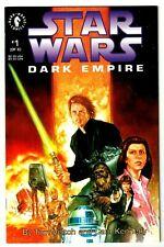 STAR WARS DARK EMPIRE #1 (NM) 1st Printing! Painted Cover! Luke 1991 Dark Horse