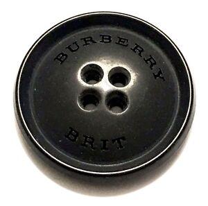 Burberry Brit Black Mate Set 2 Buttons 24mm, 21mm #3322