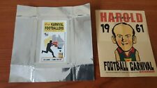 Acheron Korny's Karnival Footballers 1961 Mini POSTER Darrel BALDOCK & WRAPPER