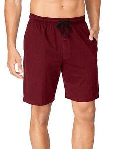 4 Hanes Men's Jersey Lounge Drawstring Shorts with Logo Waistband 25140