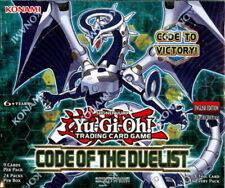 YU-GI-OH Code of the Duelist Booster Box 1st Edition English Sealed NEW!
