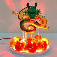 Dragon Ball Z Shenron Led Crystal Balls Action Figures Toy Anime