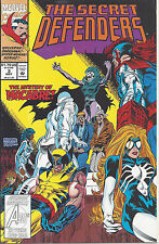 The Secret Defenders #4 (May 93) - Wolverine, Doctor Strange, Spider-Woman