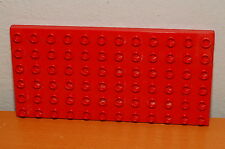Lego Duplo RED 6x12 dot Baseplate