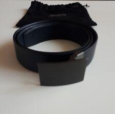 Cintura Armani Collezioni pelle vera (105cm)