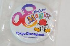 Tokyo Disney Resort Button TDL Mickey Mania TDR JAPAN