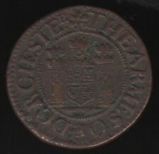More details for 1669 dorchester farthing token   pennies2pounds