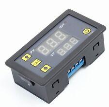 12V Timing Delay Relay Module Cycle Timer Digital LED Dual Display 0-999 minute