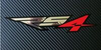 Aprilia RS4 Motorcycle graphics stickers decals x 2 Red,chrome and black