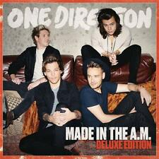 ONE DIRECTION MADE IN THE A.M. Deluxe Edition 4 Extra  Tracks DIGIPAK CD NEW